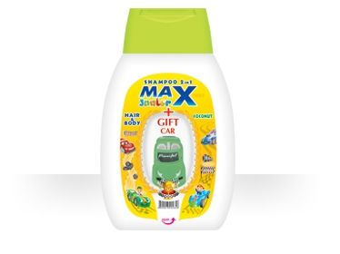 Шампоан 2 в 1 Maxdent Junior Coconut - 250 мл.