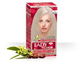 Боя за коса LADY in Color - red  Сребърно рус