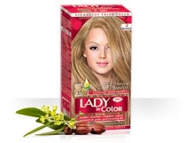 Боя за коса LADY in Color - red Рус