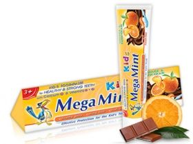 Паста за зъби Mega Mint KIDS Orange & Chocolate