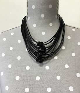 Hand-made multi-rows necklace